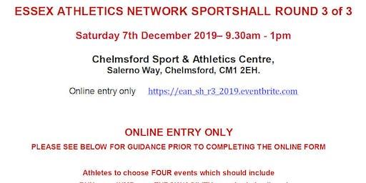 EAN Sportshall 2019  Round 3