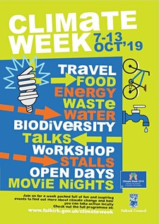 Falkirk Climate Week logo