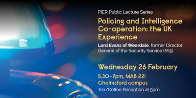 Policing and Intelligence Co-operation: the UK Experience