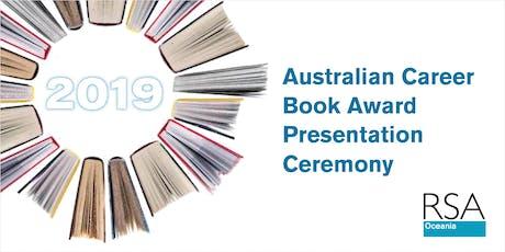 Australian Career Book Award Presentation Ceremony 2019 tickets