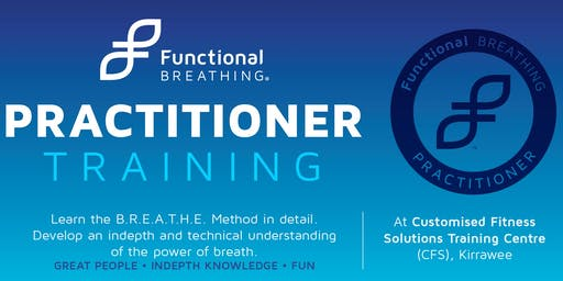 """BREATHE BETTER TOMORROW"" Functional Breathing - level 1 Practitioner."