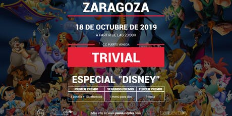 Trivial Especial Disney en Pause&Play Puerto Venecia entradas