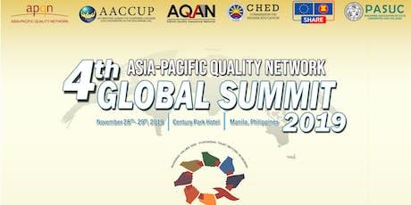 APQN 4th Global Summit tickets