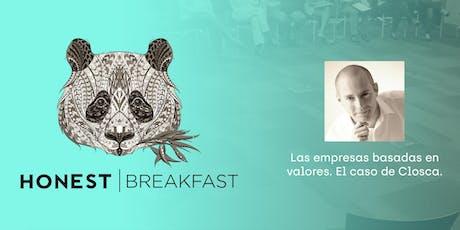 Honest Breakfast con Carlos Ferrando entradas