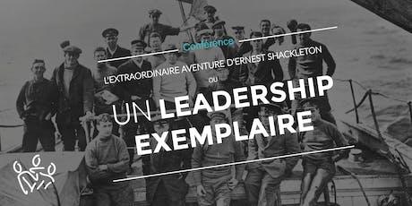 Un leadership exemplaire : l'extraordinaire aventure d'Ernest Shackleton billets