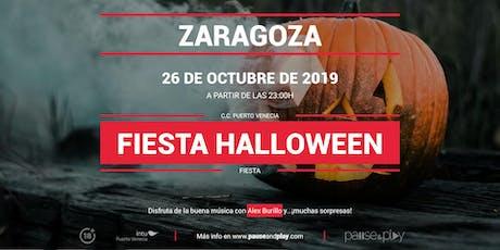 Fiesta Halloween con Alex Burillo en Pause&Play Puerto Venecia entradas