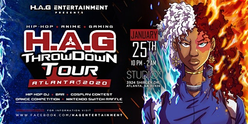 H.A.G Throw Down Party Tour - Atlanta 2020