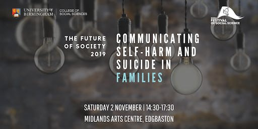 Communicating Self-Harm and Suicide in Families- Q and A Session