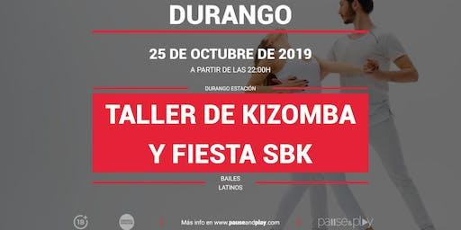 Taller de Kizomba y Fiesta SBK en Pause&Play Durango Estación