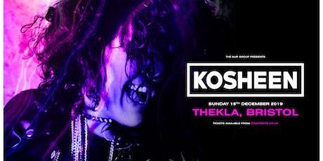 Kosheen (Thekla, Bristol) tickets