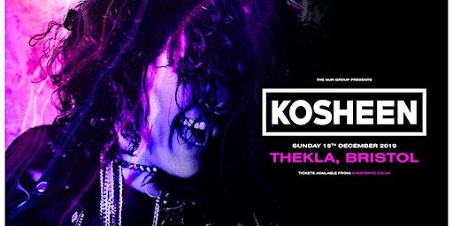 Kosheen (Thekla, Bristol)