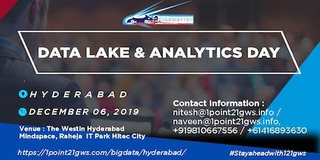 Data Lake and Analytics Day  Hyderabad  6 December 2019 tickets
