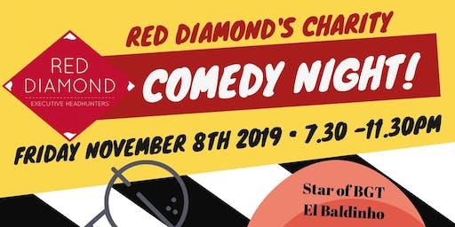 Red Diamond's Charity Comedy Night