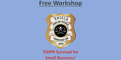 Interactive Workshop - GDPR Survival for Small Business tickets
