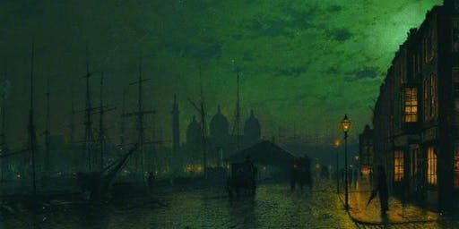 "John Atkinson Grimshaw - ""Master of Moonlight"""
