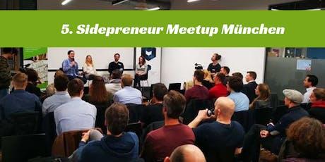 5. Sidepreneur Meetup München Tickets