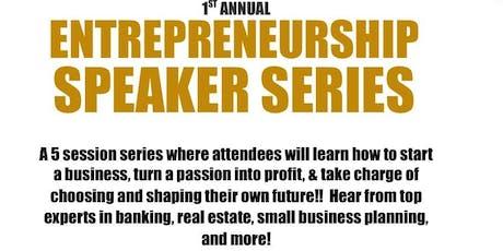 FREE! Entrepreneurship Speaker Series tickets