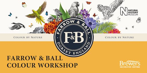 Farrow & Ball Colour Workshops at Brewers Leicester Sanvey Gate