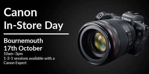 Canon In-Store Day Bournemouth