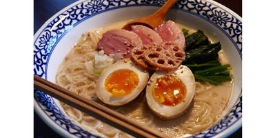 Become a Japanese Chef - Homemade Ramen from scratch! (2020-03-07 starts at 11:00 AM)