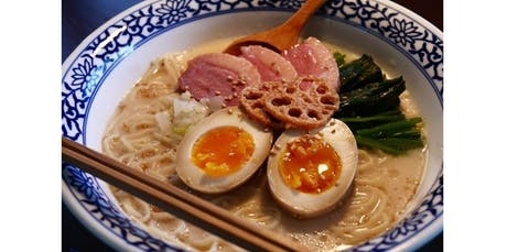 Become a Japanese Chef - Homemade Ramen from scratch! (2019-11-02 starts at 11:00 AM) tickets