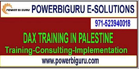 Microsoft DAX training in Palestine,UAE tickets