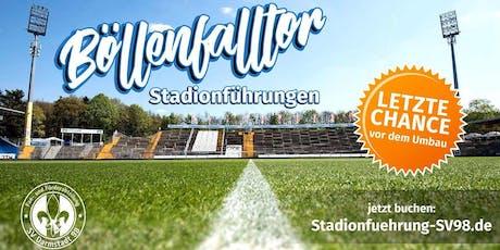 Taschenlampen-Stadionführung am Böllenfalltor Tickets