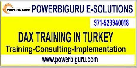 Microsoft DAX training in Turkey,UAE tickets