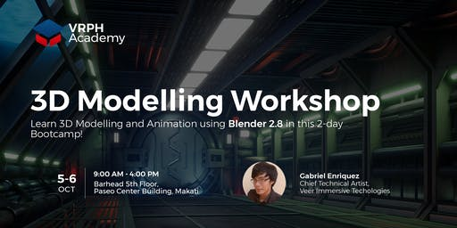 3D Modelling Workshop - VRPH Academy