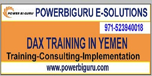 Microsoft DAX training in Yemen,UAE