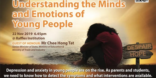 CHARITY SEMINAR: Understanding The Minds & Emotions of Young People (Nov 22)