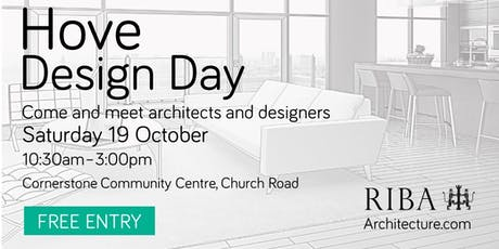 Hove Design Day 2019 tickets