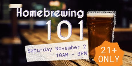 Homebrewing 101 tickets