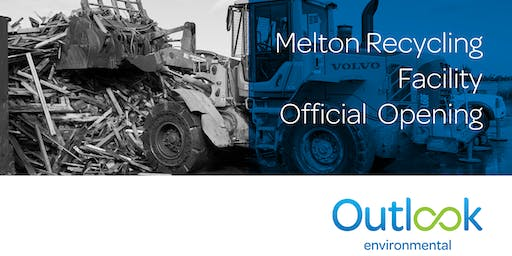 Melton Recycling Facility Official Opening