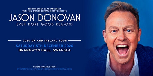 Jason Donovan 'Even More Good Reasons' Tour (Brangwyn Hall, Swansea)