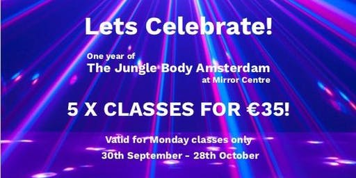 Lets Celebrate! - The Jungle Body Monday Promotion
