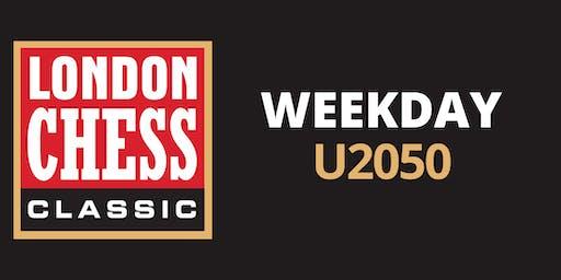 Weekday Tournaments: U2050