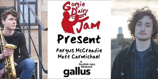 GD Jam Community Concert - Matt Carmichael and Fergus McCreadie