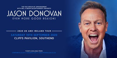 Jason Donovan 'Even More Good Reasons' Tour (Cliffs Pavilion, Southend)