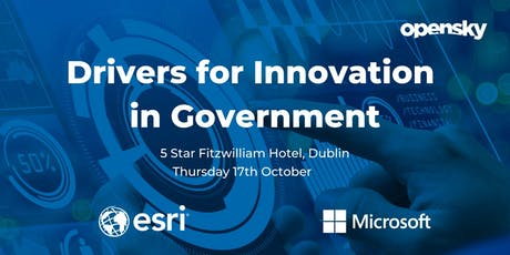 Drivers for Innovation in Government tickets