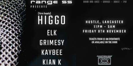 Range 55 Presents: Higgo + Many more tickets