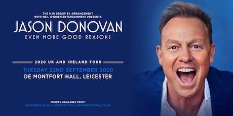 Jason Donovan 'Even More Good Reasons' Tour (De Montfort Hall, Leicester) tickets