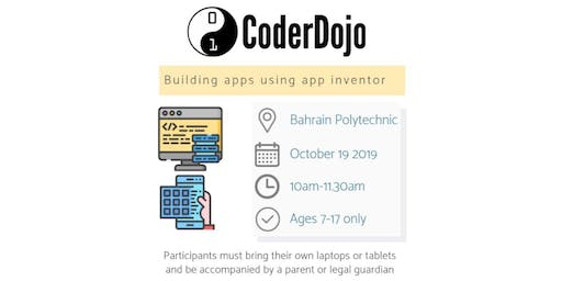 CoderDojo Bahrain - Building an app using App Inventor