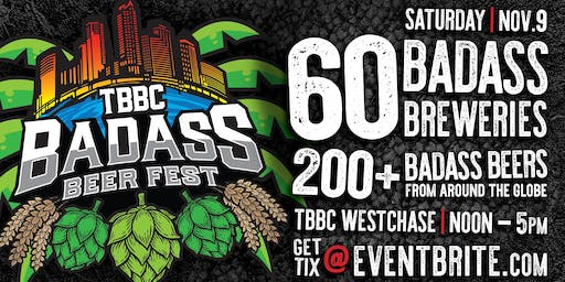 Bad Ass Beer Fest by TBBC