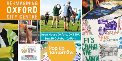 Pop up Tomorrow: Reimagining Oxford City Centre