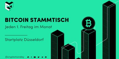 CryptoMonday BitcoinStammtisch | Investieren & Spekulieren mit Bitcoin & Co