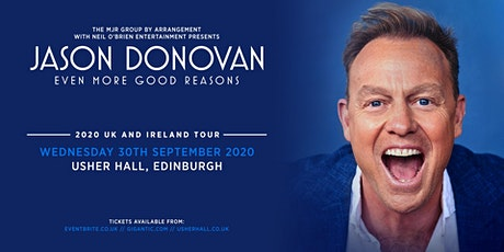 Jason Donovan 'Even More Good Reasons' Tour (Usher Hall, Edinburgh) tickets