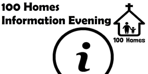 100 Homes Information Evening - November 2019
