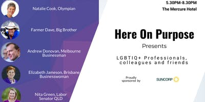 Here on Purpose - LGBTIQ+ Professionals
