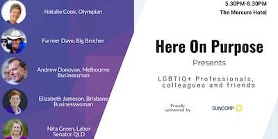 Here on Purpose - LGBTIQ+ Professionals